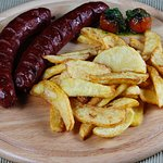 Grilled Calf Sausages