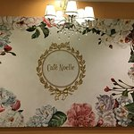 This is my first time to come in cafe noelle . So ill try to eat their i went there in cafe . I