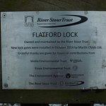 A beautiful restoration job at Flatford Lock!