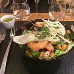 salade gambas
