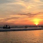 sunset at jacó