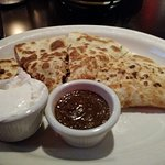 "Smoked Chicken Quesadilla ""Ranchero"""
