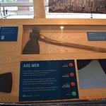 the axes