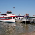 Arnolds Park - the Queen II excursion boat