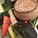 Salade asperges/fraises