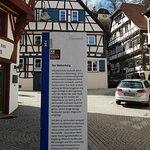 Information board (in German only).