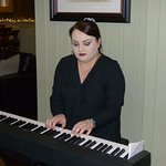 """An impromptu rendering of """"Piano Man"""" at the Carriers Inn"""