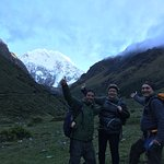 An early morning start to hike the Mt. Salkantay pass!