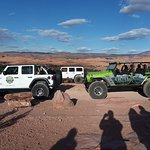 some of Outlaw Jeep's jeeps...Team Green Jeep!! WOOP WOOP!!