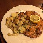 Weiner Art Schnitzel with potatoes