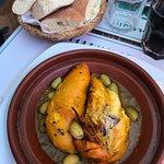 Tajine citron confit olives