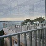Cote Thalasso Banyuls sur Mer: Puesta de sol desde la terraza.