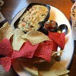 Lobster and artichoke dip!