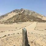 Zona Arqueologica caral Bild