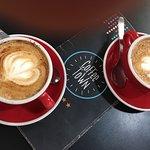 Riquísimo café en un lugar muy pintoresco de Buenos Aires