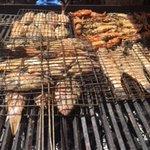 Miam ! les poissons et langoustes étaient excellents !