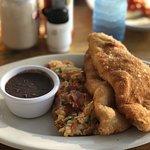 Belizean breakfast...yum!