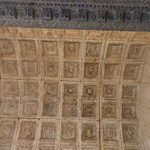 Coffered ceiling of Jupiter Temple.