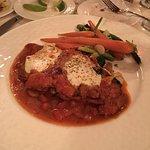 Chicken breast sautéed with fresh tomatoes, marinara sauce, parmesan & fresh mozzarella, then fi