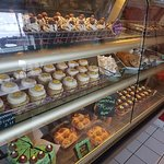 We have a delicious selection of freshly baked tasty treats!