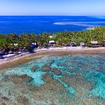Aerial photo of Off The Wall Dive Center and Resort and Reef