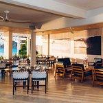 Indoor area- restaurante