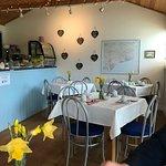 Inside tearoom