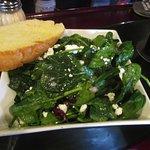 Spiach Salad $ 8.50