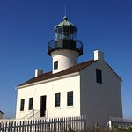 Old Point Loma Lighthouse (in service 1855-1891)