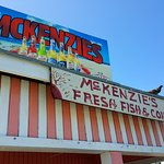 McKenzies: Best authentic Bahamian meal spot. Complete with watching them harvest the conch righ