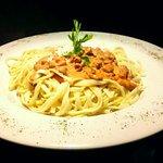 Prueba nuestra variedad de spaghettis, en esta ocación spaghetti de carne.