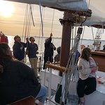 Beautiful night on the sunset cruise. This is NOT narrated but is still certainly a nice time. W