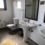 Western style bathroom in Konark room
