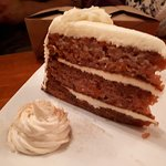 Three tier Carrot Cake with cream cheese icing