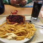 Wienersnitzel with fries
