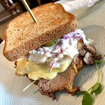 The Reuben with Dill Pickles