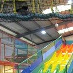 The Bull Pen indoor play area - brilliant