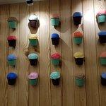 Interiors designed like ice-cream cups.