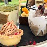 High tea- desserts