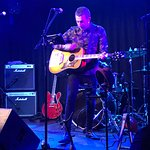 Chris Daley (Solo) from The Theme who played on Saturday night without Singer/Songwriter Paul Ba