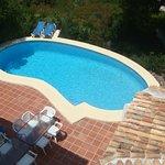 Private 10x5 Pool at 6 Bed Rental Villa, sleeps up to 12 people, 2 mins from Granadella Playa.