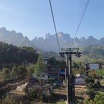Tianmen Mountain of Zhangjiajie Foto