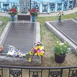 Gravesite outside of the house