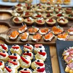 various Canape options for your functions and business meetings