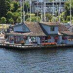 Sleepless in Seattle House boat.