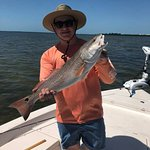 Red fish caught