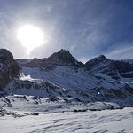 beautiful day at the icefields