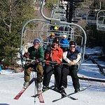 Great Family Ski Day at Shawnee Peak, Maine
