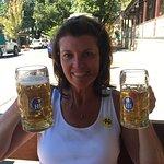 Beer time at German Arms