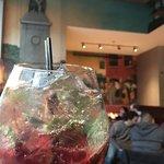 pomegranate mojito! So yummy!!!